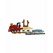 Train Puzzle - Multicolor