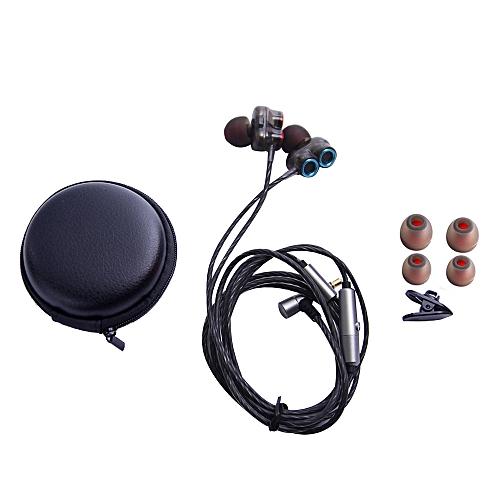 Hiamok_3.5mm In-Ear Earphone Bass Stereo Headphones Headset Earbuds With Mic SL