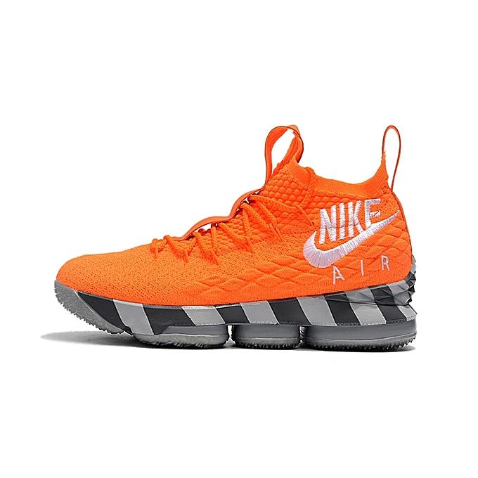 huge selection of c0b71 18679 ... NBA NlKE LBJ15 Men s Basketball Shoes 2018 LeBronJames Sports Sneskers  - Orange  nike05 Nike-Basketball ...