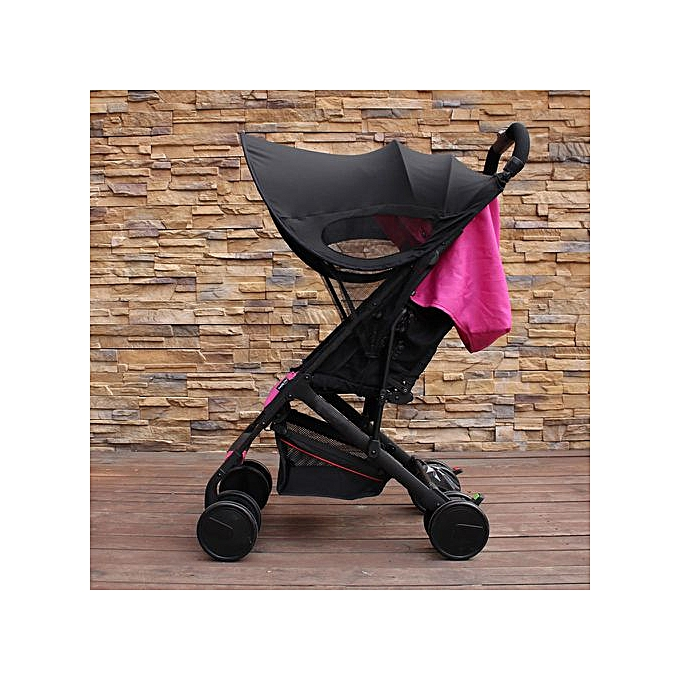 c4c7b1171 Upgraded version of Baby Stroller Sun Visor Carriage Sun Shade Canopy Cover  for Prams Stroller Accessories Car Seat Buggy Pushchair Cap Sun Hood Black