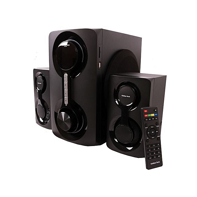 AM-265 Multimedia Speaker System 2 1 USB SD Card Reader Bluetooth and FM  Radio Woofer Black 10000