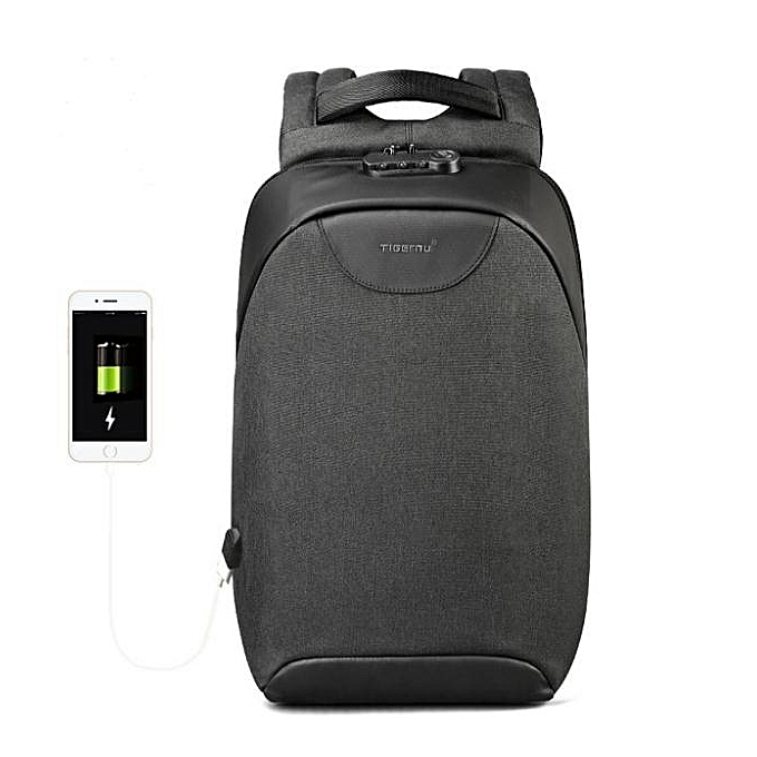 3d3c72c1bc Men 15 15.6 inch Anti theft Laptop Backpacks Multifunction Waterproof USB  Backpack For Man black ...
