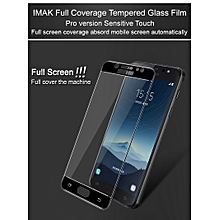 Glass Pro+ For Samsung Galaxy C8 J7+ C7 2017 Full Cover Tempered Glass Screen Protector Full Glue Absord Automatic