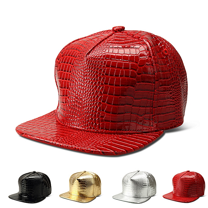 Fashion New Snakeskin Baseball Cap Flat Brim Cap   Best Price ... 63a2054632a