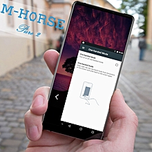 "5.99"" M-HORSE Pure2 hotUnlocked Rear Dual Camera Wifi Android HD Cellphone-black"