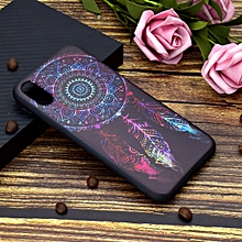 Painted Soft TPU Protective Case For iPhone XR(Feather Windbell)