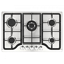 Newmatic Appliance 76cm Stainless Steel built-in Gas cooker Hob - Silver
