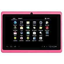 Q75S Tablet - 7 inch, 8GB, 512MB RAM, WiFi, Pink+ free screen protector + pounch.