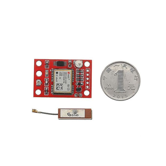 GYNEO6MV2 GPS Module NEO-6M GY-NEO6MV2 Board With Antenna For Arduino LED  Light