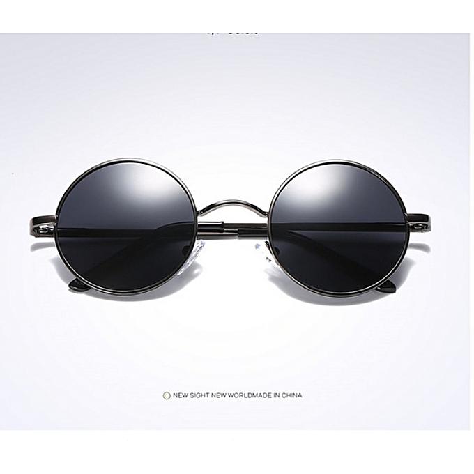 7905663e8d Great Brand Designer Fashion Unisex Sun Glasses Polarized Coating Mirror  Sunglasses Round Male Eyewear For Men