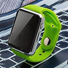 A1 New Bluetooth Smart Watch Wristphone Sport Watches(Green)