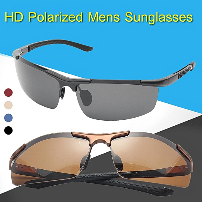 3bcd2d37b21 Fashion HD Night Vision Men Polarized Glasses Mens Eyewear Driving  Sunglasses UV400