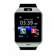 """W90 - 1.56"""" Smart Watch - 128MB ROM - 64MB RAM - 0.3MP Camera - silver"""