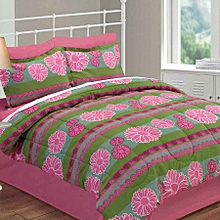 4 Piece Comforter Set - Queen Size –  Sun Flower