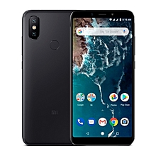 Xiaomi Mi A2, 6GB+128GB, Global Official Version, AI Dual Back Cameras, Fingerprint Identification, 5.99 inch Android One Qualcomm Snapdragon 660 AIE Octa Core up to 2.2GHz, Network: 4G, VoLTE, Dual SIM(Black)