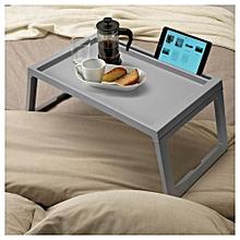 Grey Klipsk bed/breakfast tray.