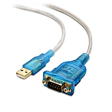 Cable Matters USB to Serial Adapter Cable (USB to RS232 / USB to DB9) 6 Feet