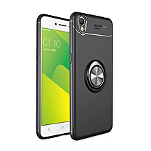 Oppo A37 Neo9 Case, 360 Degree Rotating Ring Kickstand Magnetic Car Mount Function Full Protective TPU Cover Case for Oppo A37 / Neo9
