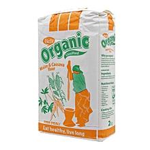 Organic Maize Cassava Flour - 2kg