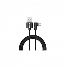 ZF-BLMC - Micro USB Charge and Sync Cable - Android - Black