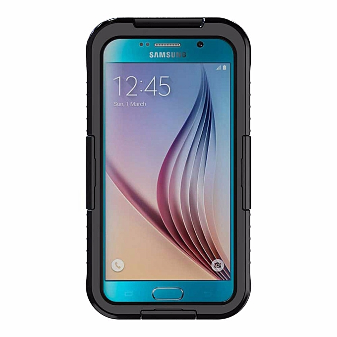 promo code d420c daef8 SK-110 Universal Waterproof Cellphone Case For Samsung Galaxy S6/S6 Edge  Black