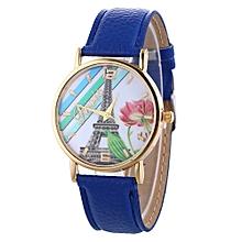 Fashion Casual Women's Leather Quartz Wrist Watch