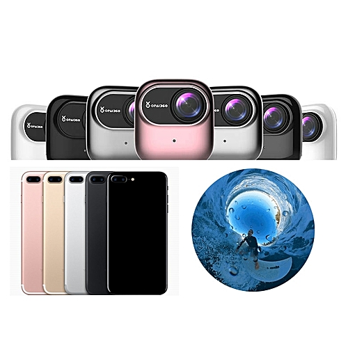 OPAI 360 Degree VR Panoramic HD Video Camera for Apple iPhone 7/7 Plus 6/6S  Plus