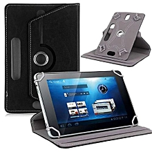 Universal Leather Flip Case Cover For 10 Inch Android Tablet PC BK