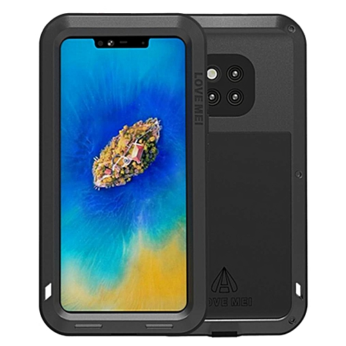 more photos 804dc 4d159 Huawei Mate 20 Pro Waterproof Case, Shockproof Snowproof Dustproof Durable  Aluminum Metal Heavy Duty Full-body Protection Case Cover for Huawei Mate  ...