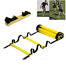 Durable Agility Ladder for Soccer Speed Training Equipment(Size:7 Rungs,7M)