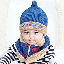 a9077a5517e Baby Boys Girls Beanie Letter Cotton Hat Children Print Hats Knitting Hats