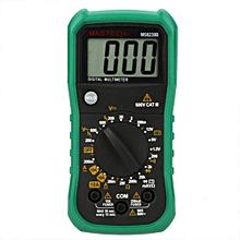 MS8239B Pocket Digital Multimeter DMM AC / DC Voltmeter Ammeter Ohmmeter - Green