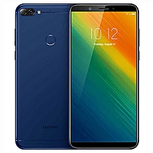 K5 Note 6.0-inch (3GB, 32GB ROM) Android 8.1 Oreo, 16MP & 2MP + 8MP, 3760mAh, Dual Sim 4G LTE Smartphone - Blue