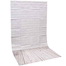 Photography Background Studio Photo Props Thin Backdrop 3X5FT Wood Grain Brick Style2