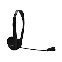 HS-350 - Headphone With MIC - Black