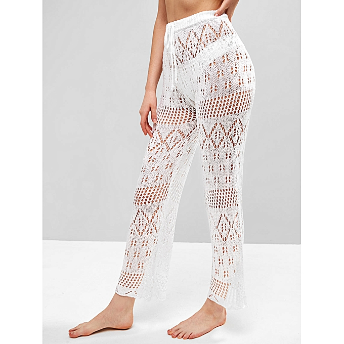 Zaful Drawstring Crochet Beach Pants At Best Price Jumia Kenya