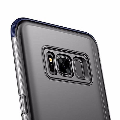 quality design c81d9 4c3b6 Baseus TPU Armor Case For Samsung Galaxy S8 / Back Cover TPU Case Samsung  Galaxy S8 - Blue () MQSHOP