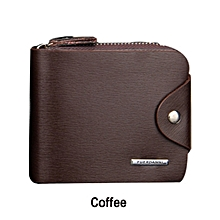 Men wallets leather Short Wallets Fashion Male Clutch bag