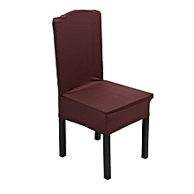 Elastic Chair Covers Home Seat Slipcover Decoration #Dark Coffee
