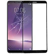Front Screen Outer Glass Lens for Vivo Y79(Black)
