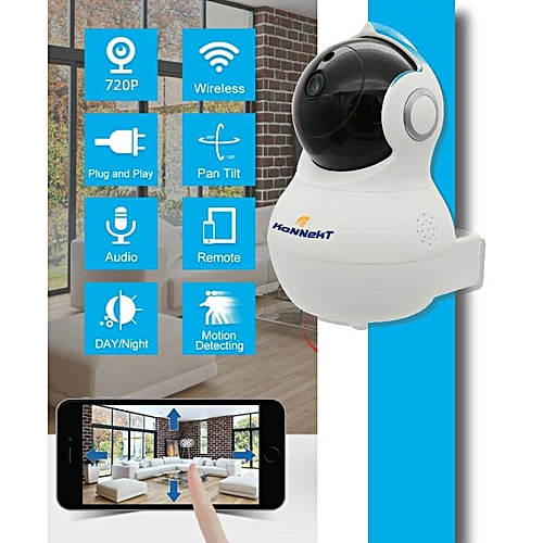Wifi IP camera-720P-HD-night vision-motion detection-SD card