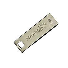 High Speed Aluminium Flashdisk Drive - 8GB - Silver