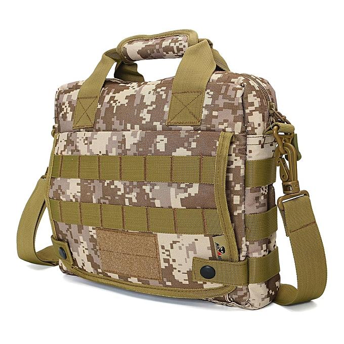 dfa063755a ... Men Nylon Messenger Shoulder Bag Military Tactical Outdoor Camping  Briefcase ...