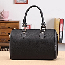 Women Handbag Shoulder Bags Tote Synthetic Leather-Black
