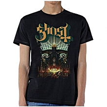 Fashion Man Ghost Meliora T-shirt Printed T Shirts Short Sleeve Funny Tee