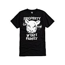 8a99baf5 WWE Wyatt Family Property T-Shirt Men's Funny Cool ...