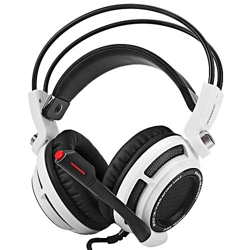 bb9f3b680f3 Somic G941 - Virtual Surround Sound USB Gaming Headset Mic Vibration - White