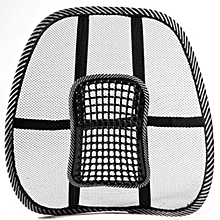 Chair/Car Massage Back Lumbar Support Mesh Ventilate Cushion Pad Car Office Seat.