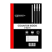 Counter Book - A4 - 2 Quire Square