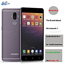 "4G LTE 2GB RAM 16GB ROM Android 7.0 Fingerprint 13MP 2SIM Smartphone 6.0""-grey"